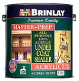 100% Acrylic Sealer Undercoat 4L