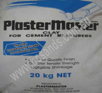 Plaster Master Renderers Clay 20Kg Bag