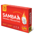 Firelighters Samba Pkt 36