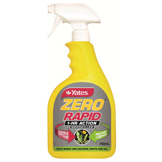 Weedkiller Yates Zero Glyphosate 750ml Ready to Use Spray