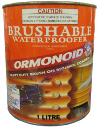 Duraseal Brushable Bitumen Based Water Proof 1L