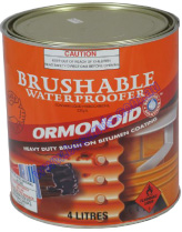 Duraseal Brushable 4L Bitumen Based