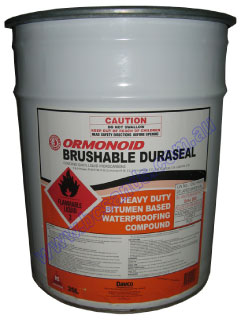 Duraseal Brushable Bitumen Based Water Proof 20L