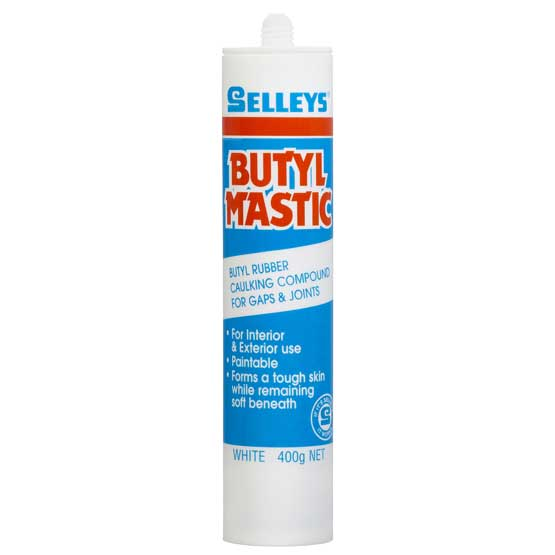 Sealant Butylmastic White 400G