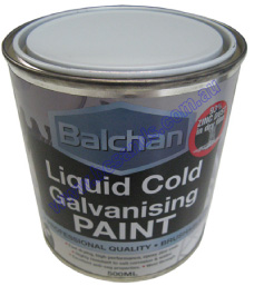 Cold Galvanising Liquid Paint 500ml Balchan