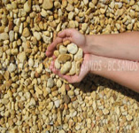 Pebble Cowra Gold 20mm Blown per Tonne (Min 13 Tonne)