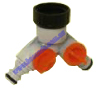 Neta PVC Twin Tap Click-on 12mm