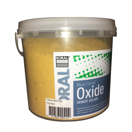 Oxide Yellow 920 1Kg