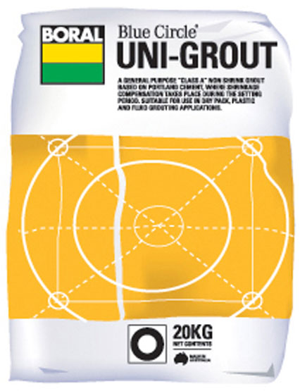 Uni Grout Non Shrink Boral 20K g