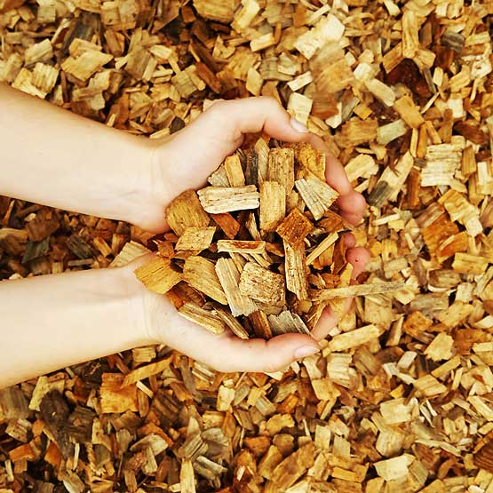 Mulch Wood Chip Hardwood 25-50mm