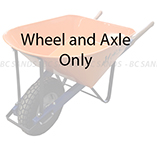 Moss Wheelbarrow Spare Wheel and Axle Only