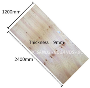 Plywood CD 2400x1200x7mm