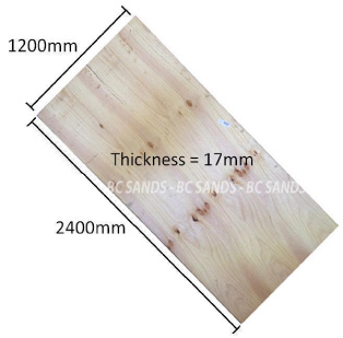 Plywood CD 2400x1200x17mm