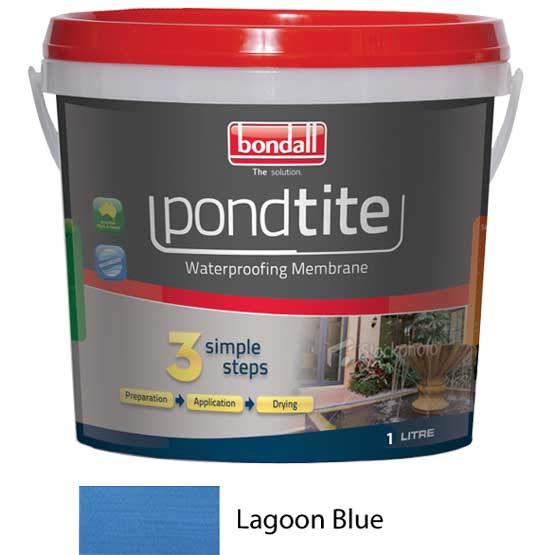 Pondtite W Proof Membrane Blue 1L