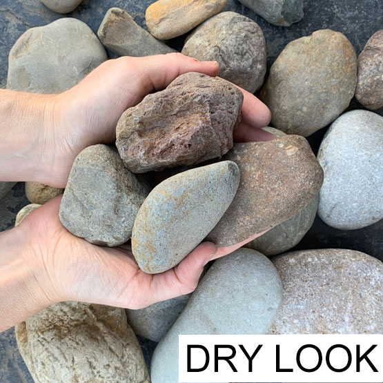Pebble River Lucky Stone Large 75-150mm