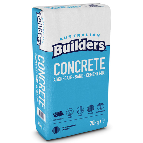 Concrete Mix Australian Builders 20kg