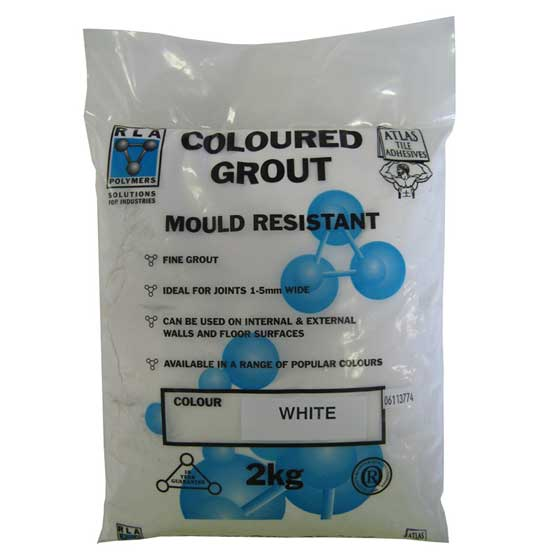Grout Atlas No.15 Superwhite 2kg
