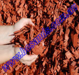 Wood Chip Mulch Red Softwood Bulk 1M3 Bulk Bag