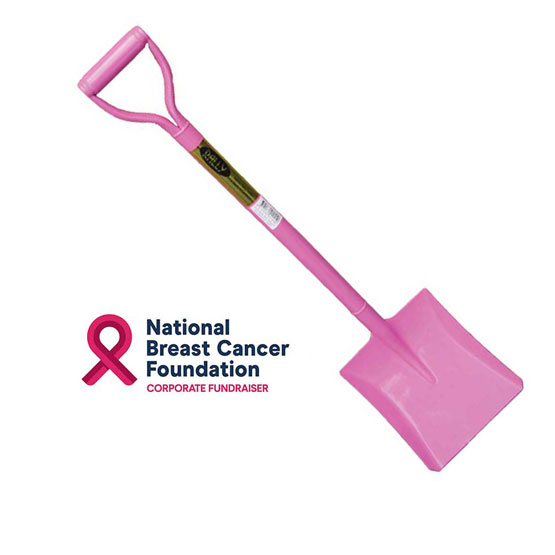Shovel Metal Pink W/D Handle