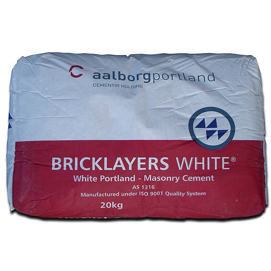 Cement Aalborg Bricklayers White 20kg
