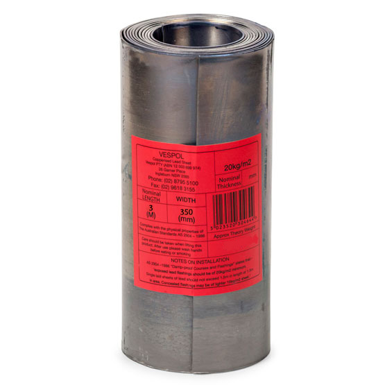 Lead Flashing 20kg 350mm 3m roll