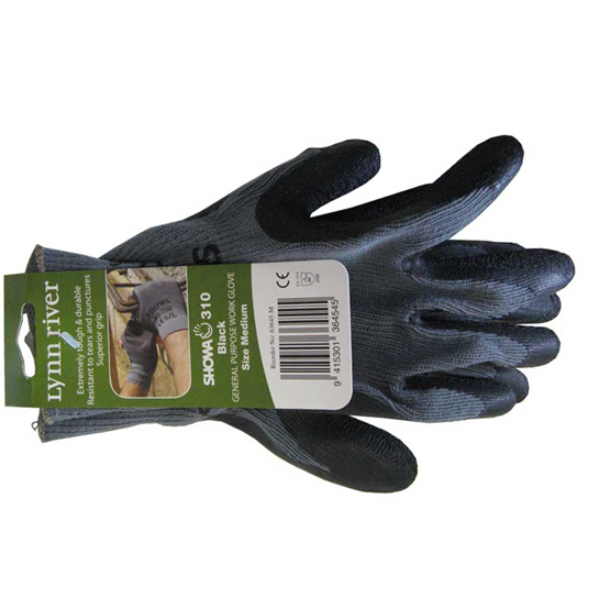 Glove Super Work Grey Medium