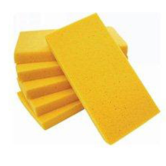 Float Sponge Yellow 280 x 140 x 30mm