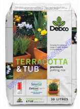 Potting Mix Terracotta & Tub 30L