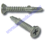 Screw Self Drill Wing Countersunk 10G x 45mm (Pk=100)