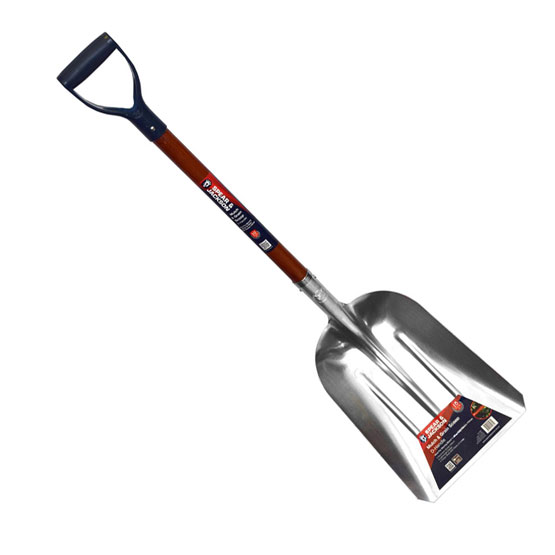Scoop Mulch Aluminium D/Handle Spear&Jackson Shovels