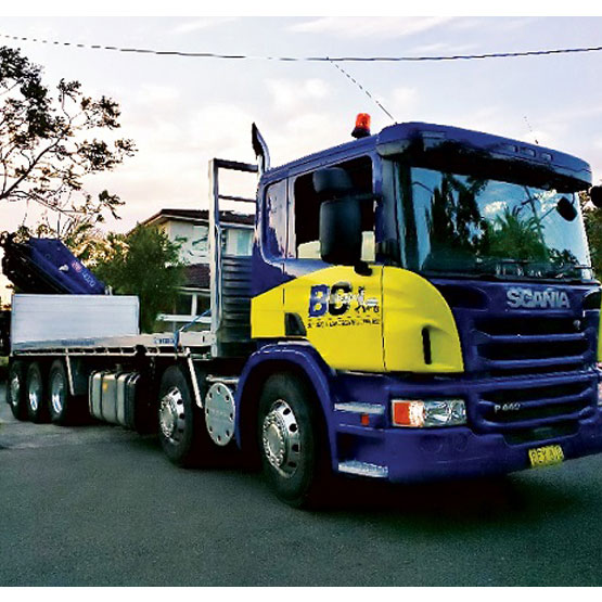 Flat Top 11 Tonne Load With 21 Metre Crane Truck Hire Hourly Two Hour Minimum (81)