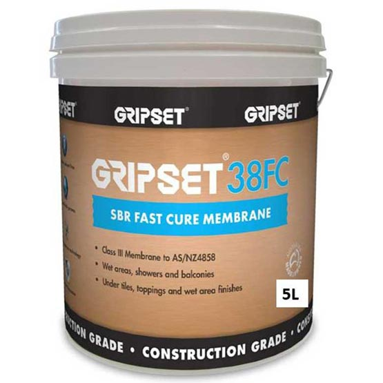 Gripset 38 - Fast Cure 5L