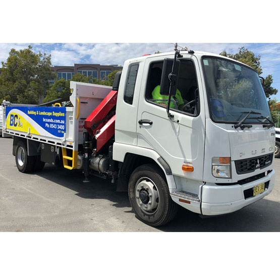 Tipper 7.5 Tonne Load With 7 Metre Crane Truck Hire Hourly Two Hour Minimum (34,35)