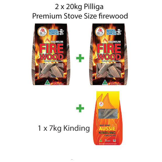 Firewood NEW Weekend Warrior Package for Fire Pits