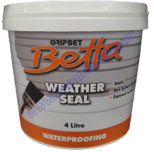 Gripset 4L Weather Seal Betta