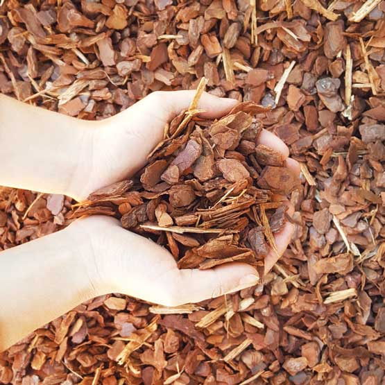 Pine Bark Mulch 'Sydneys Best' 15mm Certified Bulk