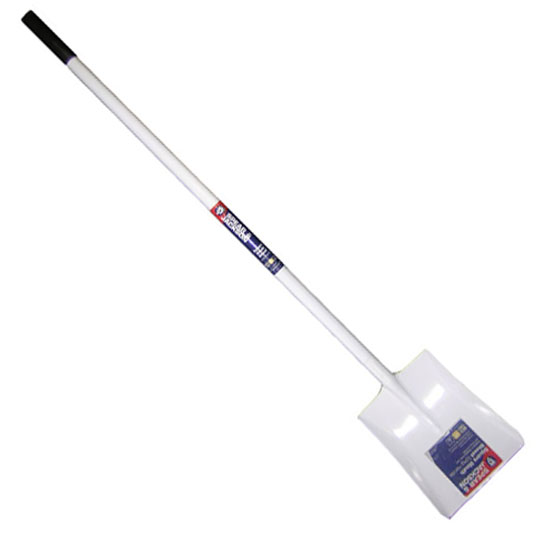 Shovel White Long handle Steel