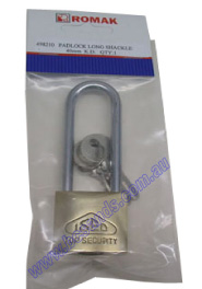 Padlock Long Shackle 40mm