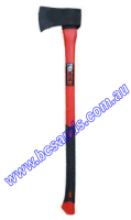 Axe 4lb with fibreglass handle & soft grip.