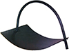 Fire Wood Holder/Carrier Curved Grey 490x300x310