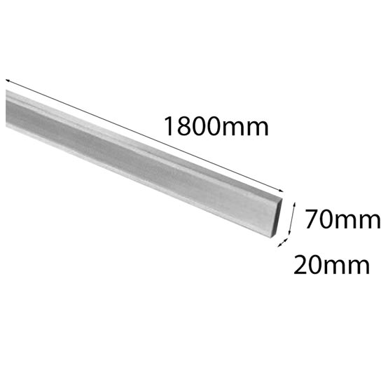 Aluminium Straight Edge 1800mm