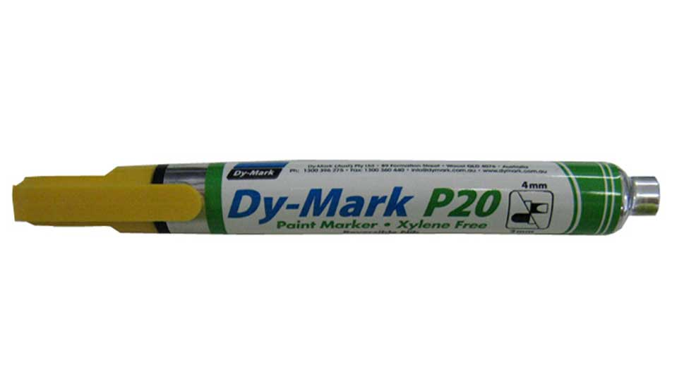 Marker Paint P20 Yellow Dy-Mark