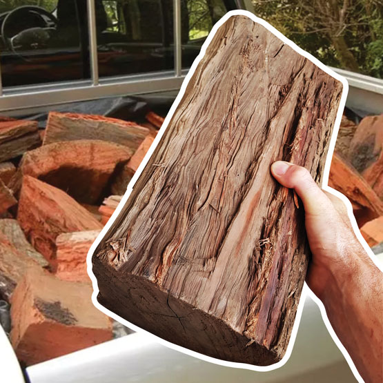 Firewood Pilliga Ute Regular Size 250kg (FAA Approved)