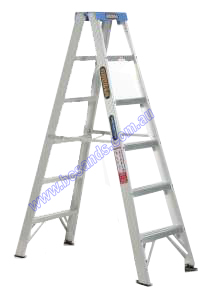 Ladder Double Sided A-Frame 0.9m (3ft) Aluminium 120kg