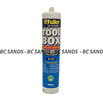 Sealant Toolbox Black 400g Fuller