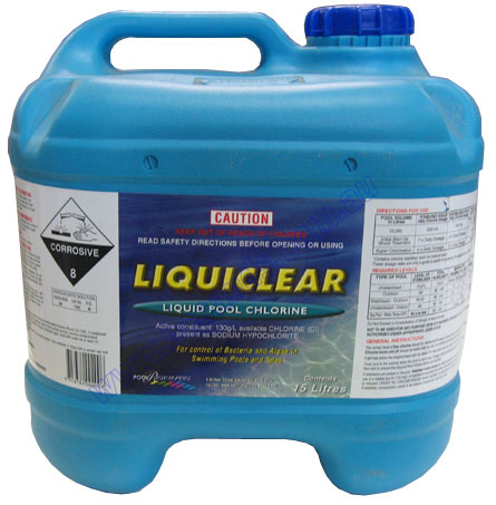 Chlorine Pool 15L (drum deposit)