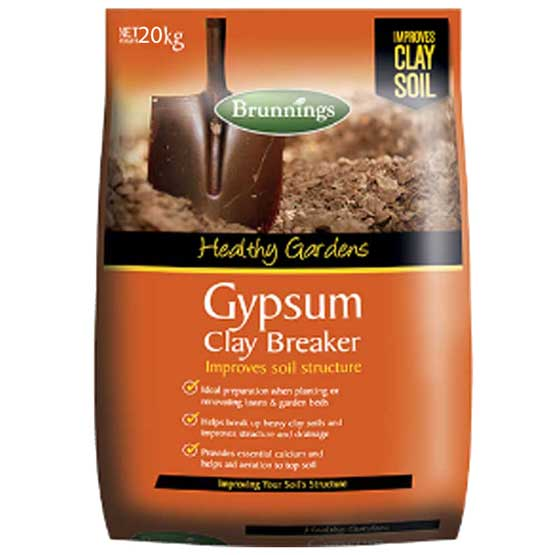 Gypsum Clay Breaker 25kg Brunnings