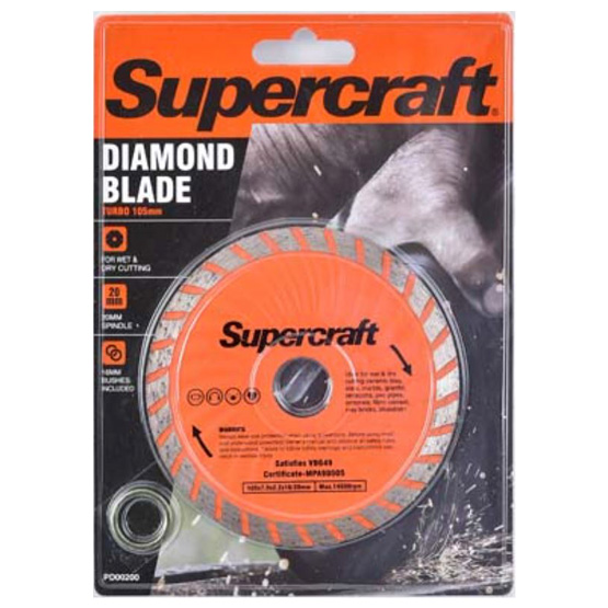 Blade Diamond 105mm Turbo Supercraft