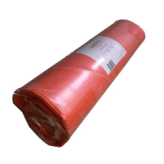Plastic Orange Roll 2mx50mx200um (0.2mm) thick Builders/Concrete Film
