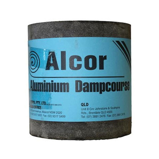 Alcor Super Aluminium Dampcourse 230mmx30mx0.45mm